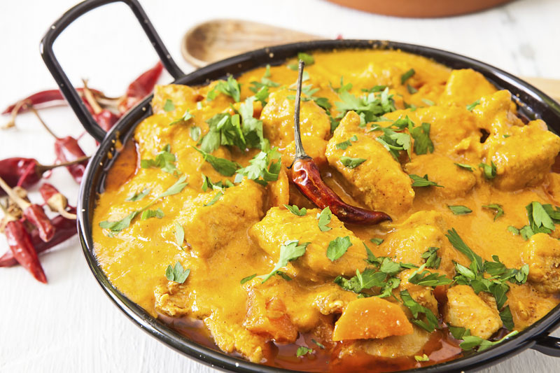 Ibiza Food And Drinks Delivery | By El Catering Francés - CURRY KORMA POLLO 200GRS
