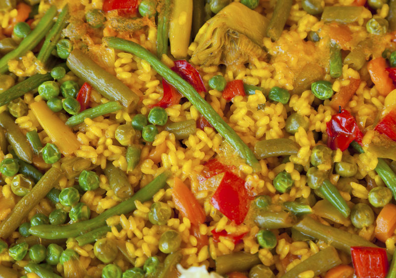 Ibiza Food And Drinks Delivery | By El Catering Francés - PAELLA VEGETARIANA 1 PERS