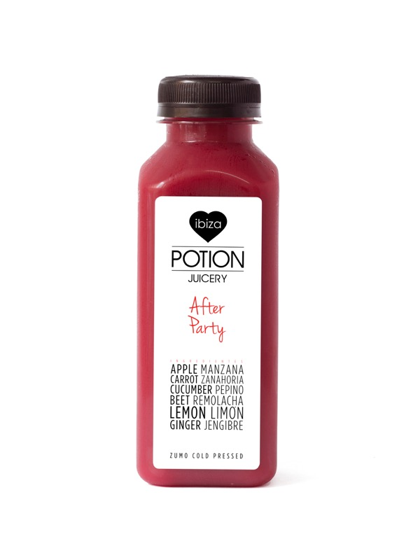 Ibiza Food And Drinks Delivery | By El Catering Francés - IBIZA POTION JUICE AFTER PARTY