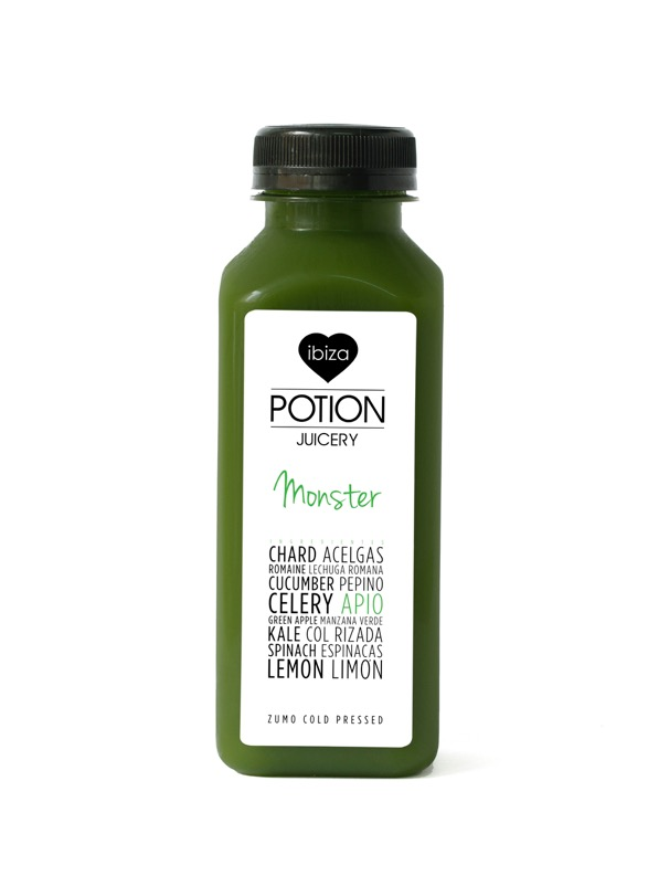 Ibiza Food And Drinks Delivery | By El Catering Francés - IBIZA POTION JUICE MONSTER