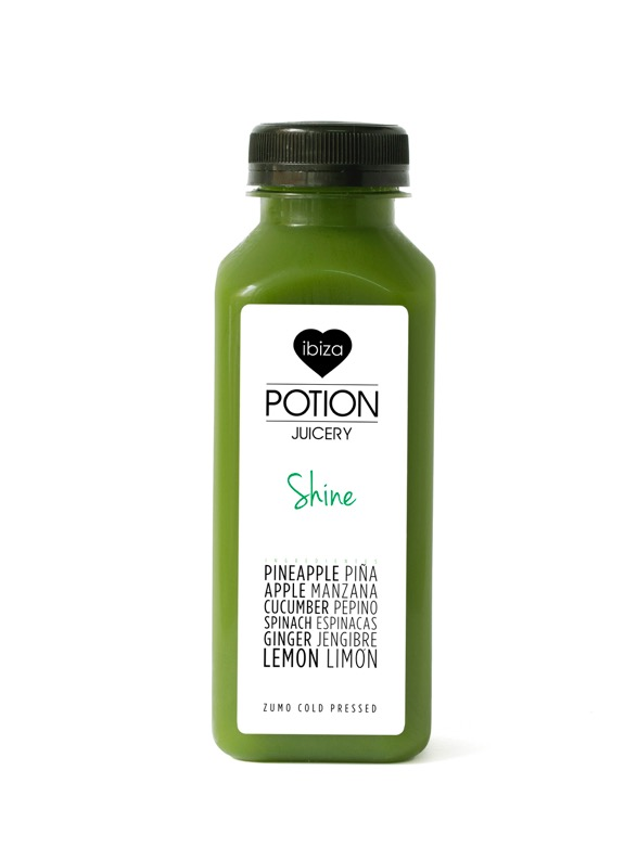 Ibiza Food And Drinks Delivery | By El Catering Francés - IBIZA POTION JUICE SHINE