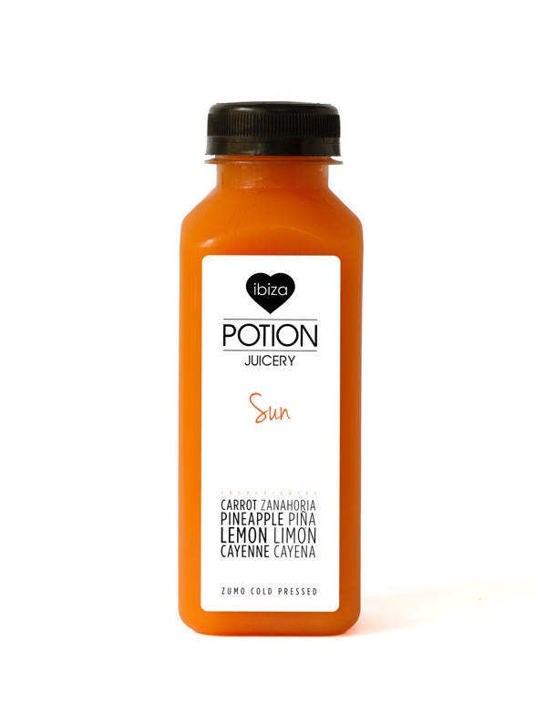 Ibiza Food And Drinks Delivery | By El Catering Francés - IBIZA POTION JUICE SUN